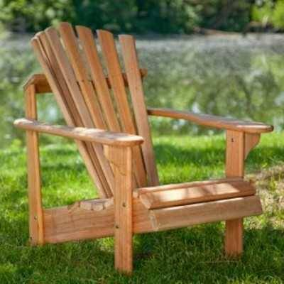 Exclusive Hyre's Teak Adirondack Chair