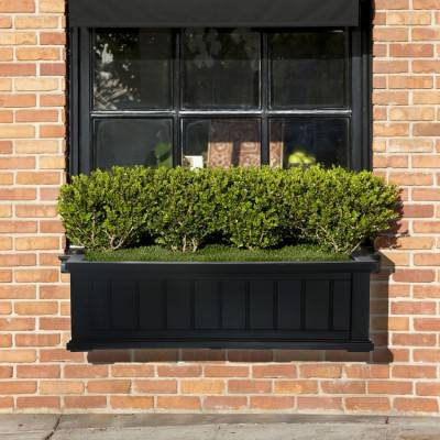 Cape Cod Window Box 3ft Black