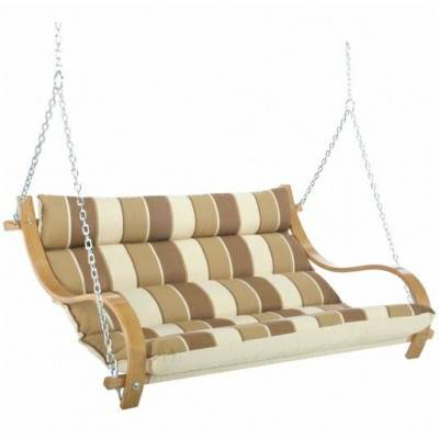 Deluxe Cushioned Double Swing