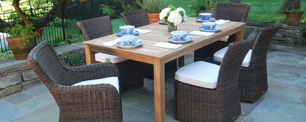OUTDOOR DINING. Shop Dining Ensembles Build Your Own Ensemble · BISTRO SETS.  DINING TABLES